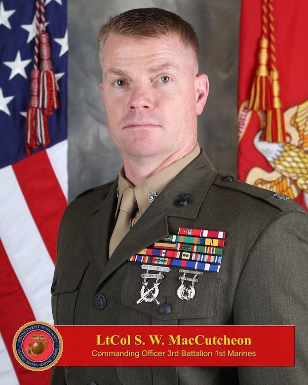 Commanding Officer, 3rd Battalion, 1st Marines