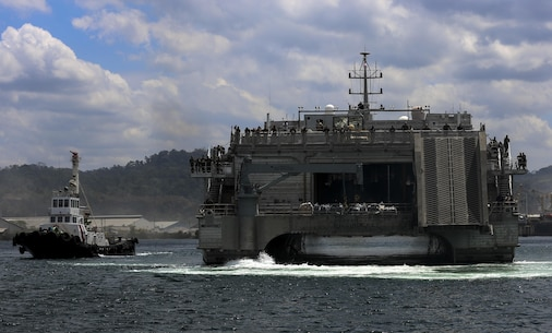 U.S. Marines and Sailors arrive in Subic Bay, Philippines aboard United States Naval Ship Millinocket  in order to participate in Balikatan 2016 (BK 16) on March 30, 2016.  The purpose of BK 16 is to strengthen interoperability and partner-nation capabilities for the planning and execution of military operations, and advance regional security operations.