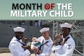 Military children make up a very special part of our nation's population. Although young, these brave sons and daughters stand in steadfast support of their military parents. To honor their unique contributions and sacrifices on behalf of our country, each April is designated the Month of the Military Child.