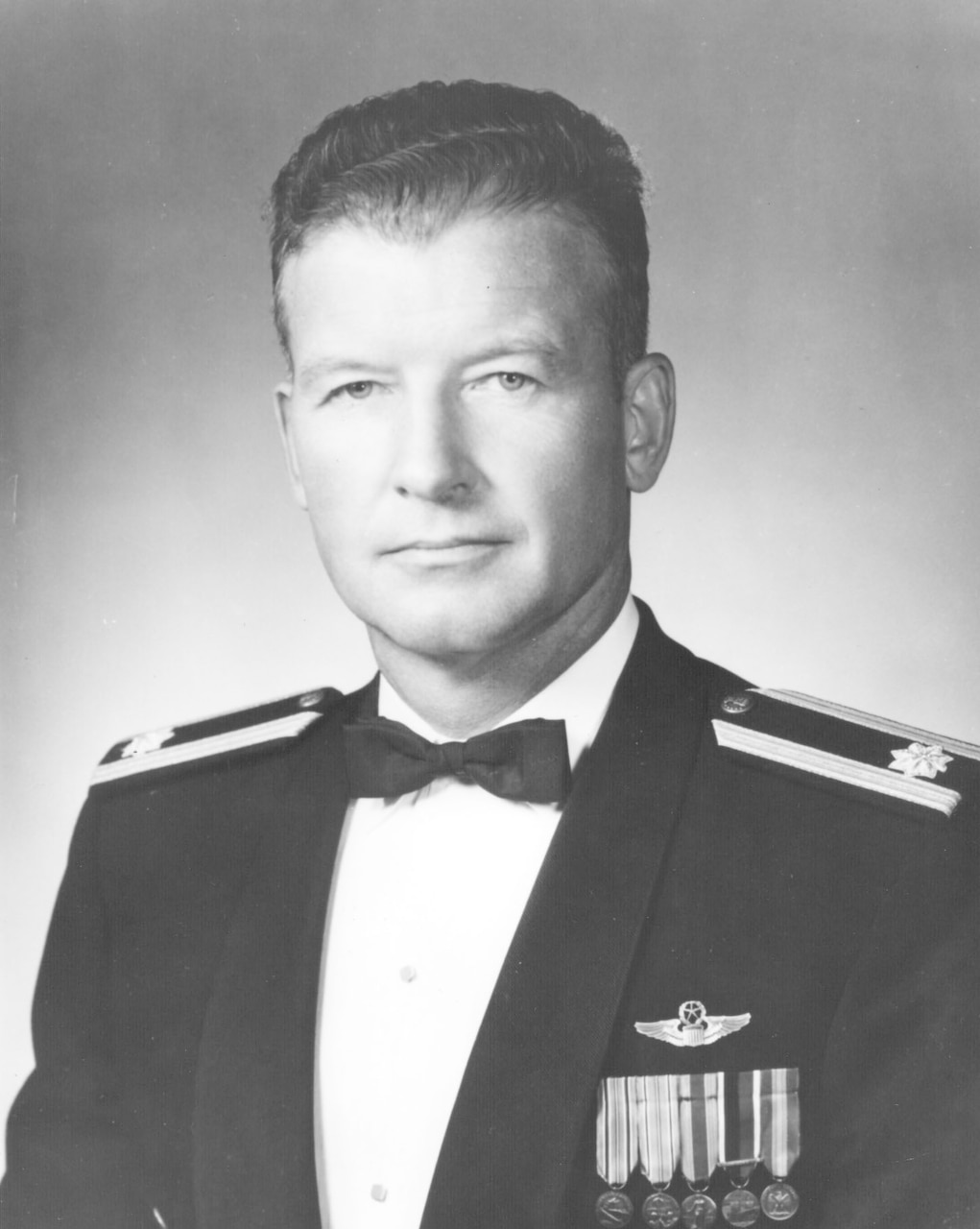 Headshot of a man wearing formal military attire.