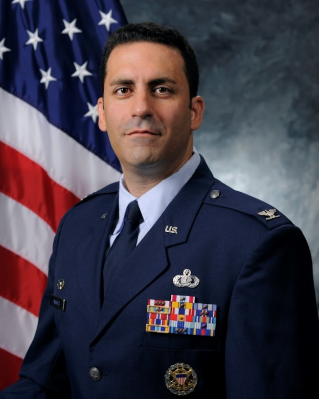Col. Jason Janaros, 50th Mission Support Group commander