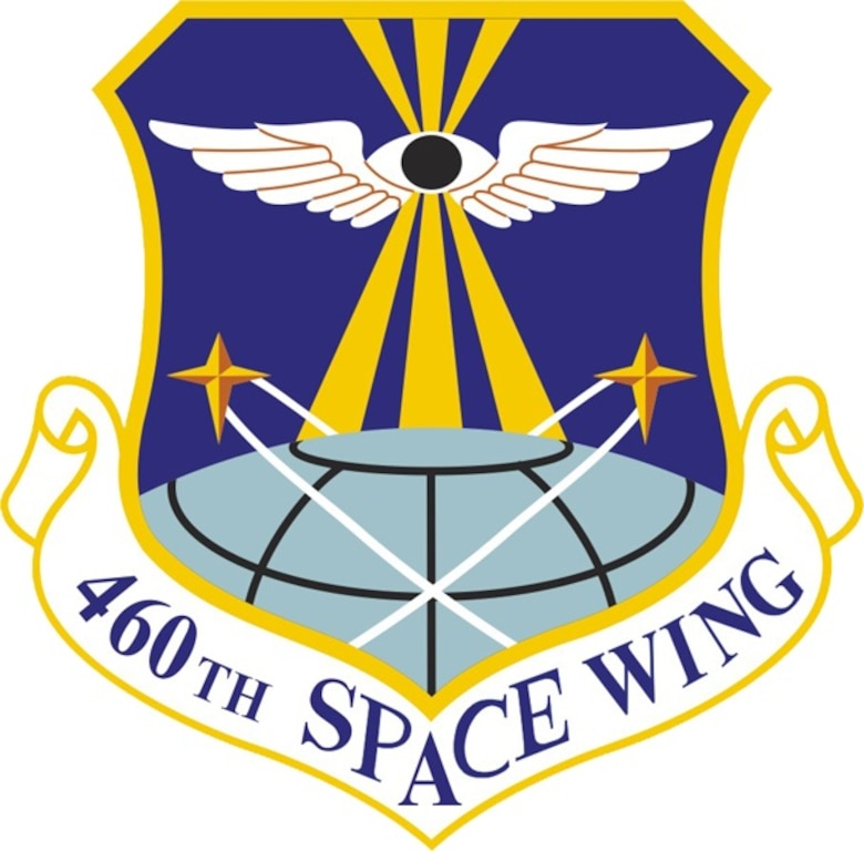 460th Space Wing emblem (Official USAF graphic)