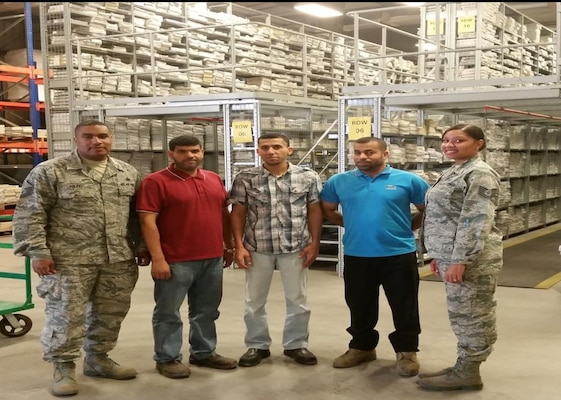 Defense Logistics Agency Distribution Bahrain's, Mapping Team has been awarded the Team of the Quarter for their continued outstanding performance and dedication in supporting US Navy Fifth Fleet and military services within the CENTCOM area of responsibility.
