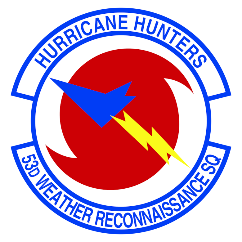 Official shield of the 53rd Weather Reconnaissance Squadron