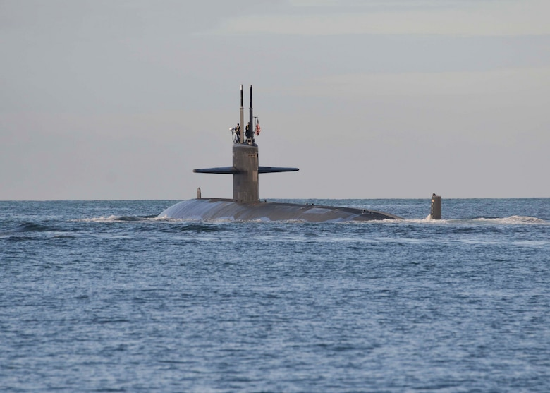 Official U.S. Navy file photo of Los Angeles-class fast attack submarine USS Bremerton (SSN 698). (U.S. Navy photo by Mass Communication Specialist 1st Class Steven Khor/Released)