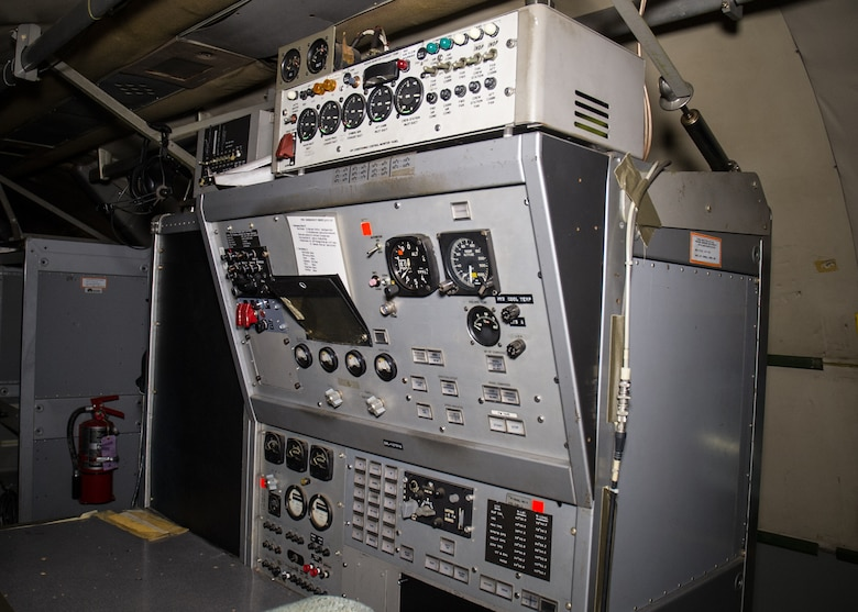 DAYTON, Ohio -- Convair NC-131H Total In-Flight Simulator (TIFS) interior view in the Research & Development Gallery at the National Museum of the United States Air Force. (U.S. Air Force photo by Ken LaRock)