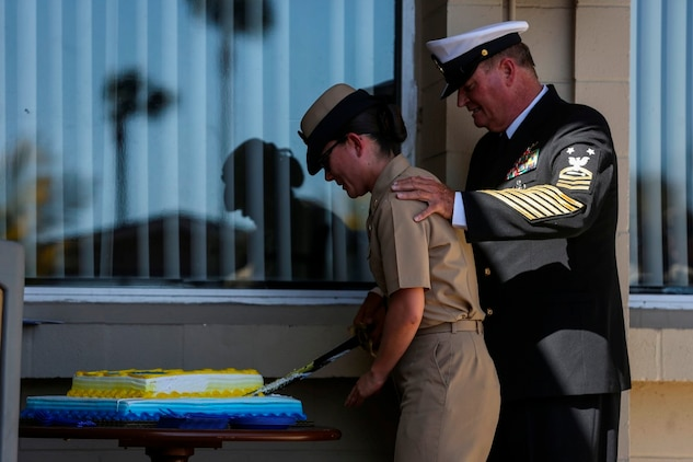 Chief Petty Officer Birthday Celebration, Dedication Ceremony > I