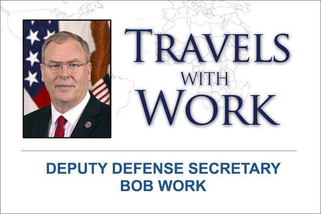 Deputy Defense Secretary Bob Work is on a weeklong trip to meet with U.S.-Nordic-Baltic leaders and his NATO counterparts. His stops will include Sweden and Belgium, where he is visiting military facilities, discussing security challenges and speaking to the European Policy Centre about the Third Offset Strategy.
