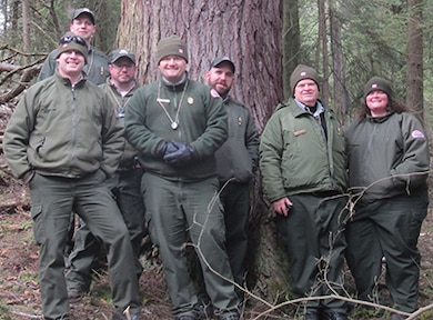 Rangers from the U.S. Army Corps of Engineers Shenango River Lake and Tionesta Lake attended a Pennsylvania Department of Conservation and Natural Resources workshop about the Hemlock Woolly Adelgid, March 3.