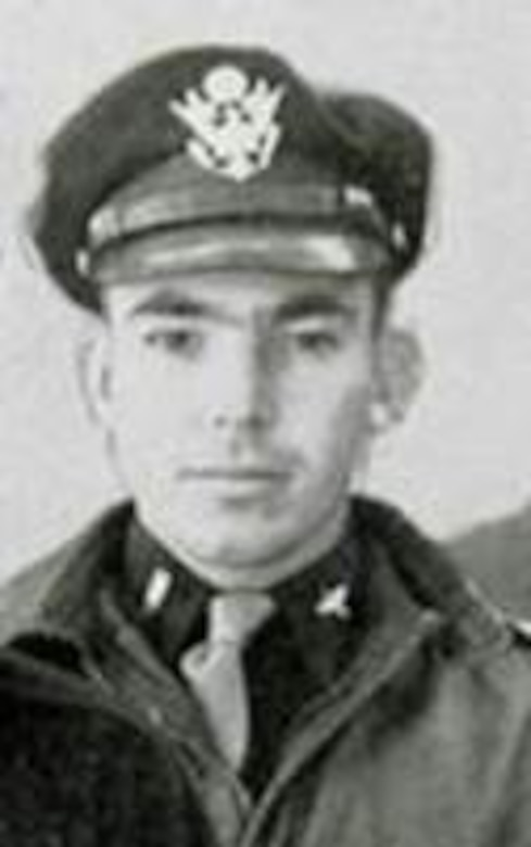 Photo of Lt. (later Capt.) Luther P. Canup of the 371st Fighter Group/405th Fighter Squadron, who completed 41 combat missions before he was shot down by German anti-aircraft fire on 8 July 1944 over France. He was taken prisoner and spent the rest of the war in various POW camps. (The Story of the 371st Fighter Group in the E.T.O.)