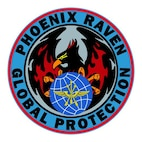 USAF Security Forces Ravens Patch(U.S. Air Force graphic)