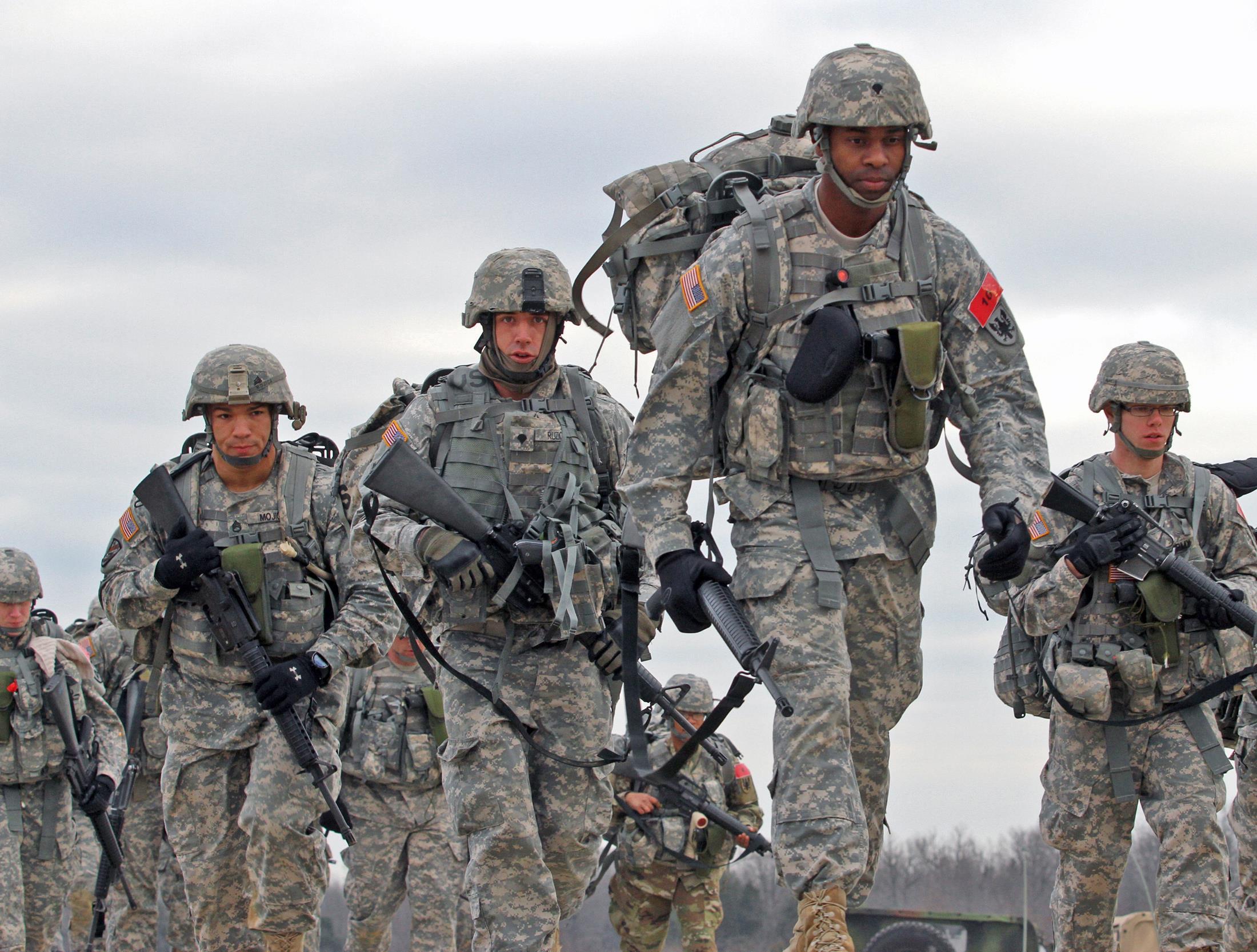 US Army Reserve Staff Sgt Joseph Mojica 78th Training Division 84th Command