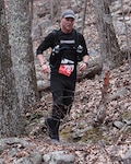 Army Lt. Col. Jamie Miller recently ran a 50-mile endurance run in the Blue Ridge Mountains of Virginia.
