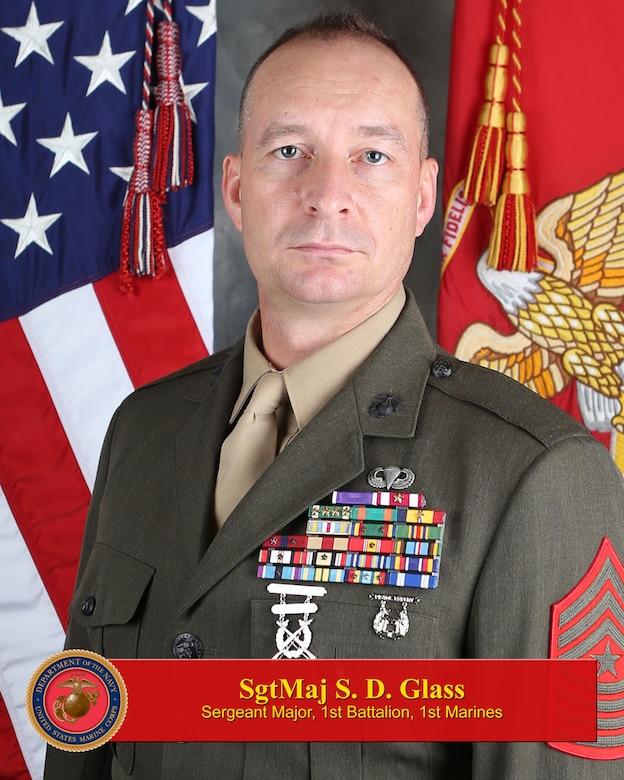 Sergeant Major, 1st Battalion, 1st Marines