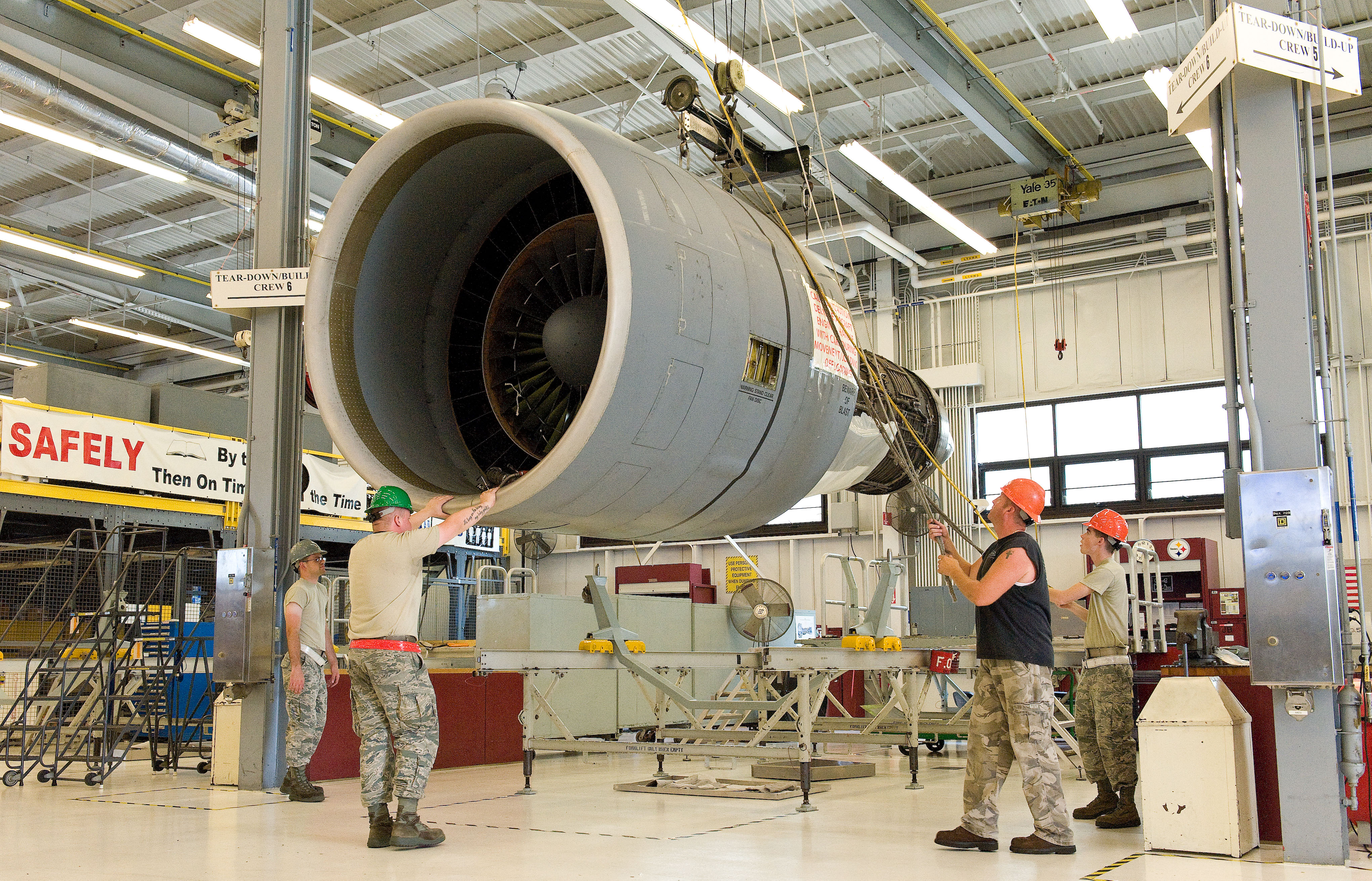 An era of Dover built TF39 engines throttles down Air Mobility