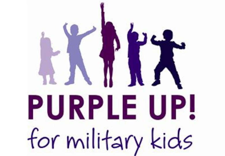 The Purple Up! campaign honors military children.