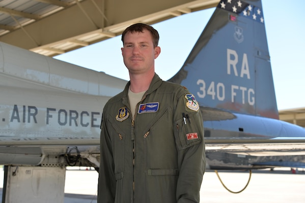Maj. Brandon LaValley, Air Reserve technician and assistant flight commander with the 39th Flying Training Squadron, won the Air Education and Training Command Flying Training Civilian Instructor of the Year award for 2015.