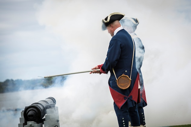 Civil War era cannons are fired during the 48th Annual RBC Heritage Golf Tournament held at Hilton Head Island April 11. The tournament, April 11-13, is a yearly tradition on Hilton Head bringing together players from around the country.