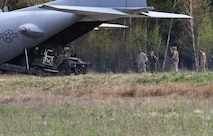 Airmen from the 321st Special Tactics Squadron out of Royal Air Force Mildenhall, England, and Soldiers from the 173rd Airborne Brigade out of Vicenza, Italy, conduct fast-paced landing and takeoff maneuvers during Saber Junction 16 April 13, 2016. Saber Junction 16 was the U.S. Army Europe's 173rd AB's combat training center certification exercise. It took place at the Joint Multinational Readiness Center in Hohenfels, Germany, March 31-April 24, 2016. (U.S. Army photo/Spc. Sarah K. Anwar)