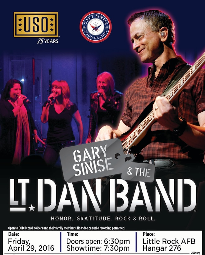 The Lt. Dan Band is a cover band founded by Kimo Williams and Gary Sinise. Sinise is a passionate supporter of troops and is now involved in building a memorial to America's three million living disabled military veterans