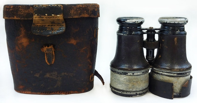 "Binoculars, known as field glasses, were a very important piece of equipment for U.S. soldiers -- especially critical for observation (by land or balloon). ""Field glasses"" were in short supply, many soldiers either brought their own personal binoculars or received them through special Army and Navy donation campaigns, which collected binoculars from civilians back home to aid U.S. soldiers and sailors in the fight against the enemy."