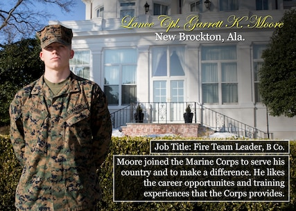 Lance Cpl. Garret Moore