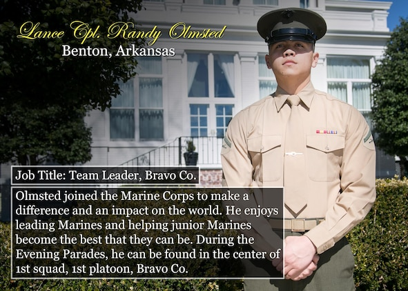 Lance Cpl. Randy Olmsted