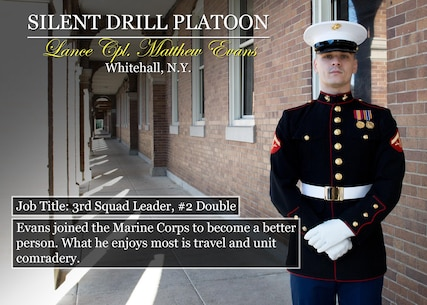 Lance Cpl. Matthew Evans