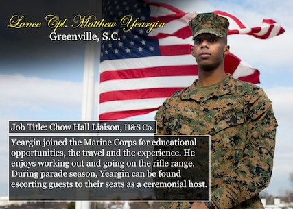 Lance Cpl. Matthew Yeargin