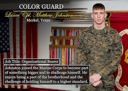 Lance Cpl. Matthew Johnston