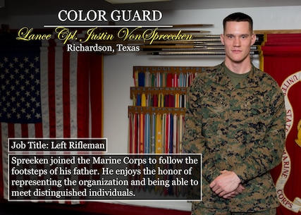 Lance Cpl. Justin VonSpreecken