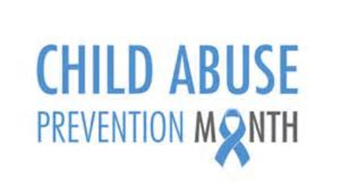Child Abuse Prevention Month graphic