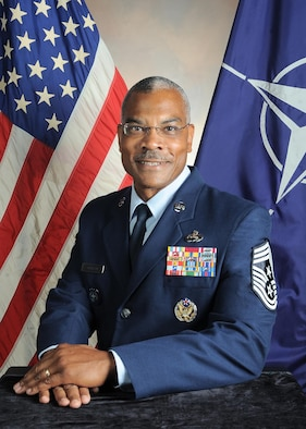 Command Chief Master Sgt. Jack Johnson Jr. is the Supreme Allied Command Transformation command senior enlisted leader at Norfolk, Va. (NATO photo)