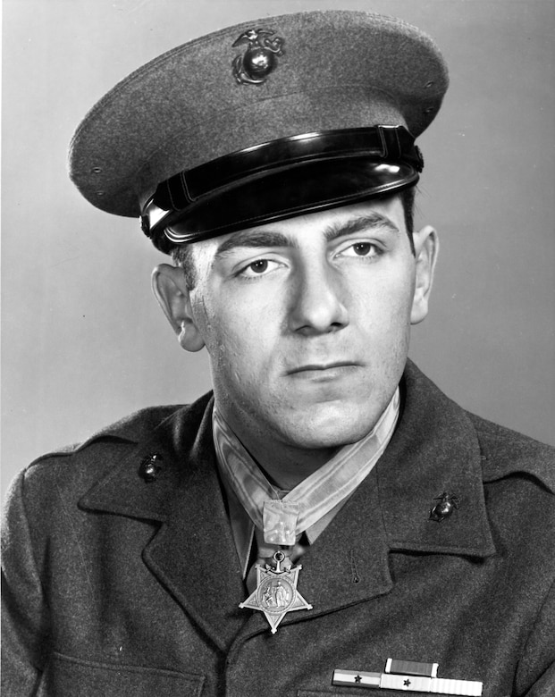 Private First Class Hector A. Cafferata, Jr. was laid to rest at the Quantico National Cemetery at Marine Corps Base Quantico, Virginia, April 22, 2016.  Cafferata received the Medal of Honor for his actions during the Chosin Reservoir campaign of 1950.