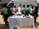 North Dakota Guard helps outfit national ambulance service in Ghana