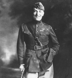 Picture of Eddie Rickenbacker, Medal of Honor recipient, WWI