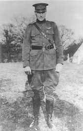Picture of 2nd Lt Harold E. Goettler, Medal of Honor recipient, WWI