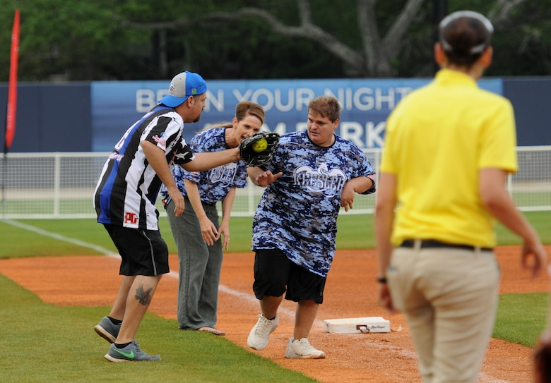 "Boots versus Badges"" softball game kicks off Special"