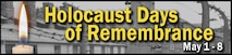 Holocaust Days of Remembrance (U.S. Air Force graphic by Senior Airman Deana Heitzman)