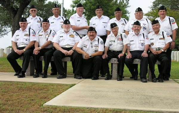 The Fort Sam Houston Memorial Services Detachment is made up of 100 volunteers who perform full military honors for veterans interred at Fort Sam Houston National Cemetery. The average member's age is 70 and includes veterans from World War II, the Korean and Vietnam Wars and First and Second Gulf Wars. To date, the MSD has rendered honors at more than 32,000 military funerals.