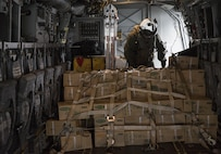 MV-22 Osprey squadron, Marine Medium Tiltrotor Squadron (VMM) 265 (Reinforced) attached to the 31st Marine Expeditionary Unit, arrived at Marine Corps Air Station Iwakuni, Japan, April 17-18, 2016, in support of the Government of Japan's relief efforts following the devastating earthquakes near Kumamoto. The long-standing alliance between Japan and the U.S allows U.S military forces in Japan to provide rapid, integrated support top the Japanese Self-Defense Forces and civil relief efforts. (U.S. Marine Corps photo by Cpl. Nicole Zurbrugg/Released)