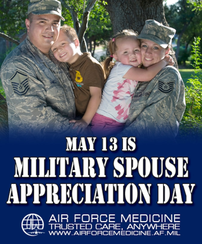 Facebook Timeline Military Spouse Day May 2016 (Courtesy Photo)