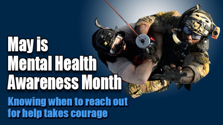 May is Mental Health Awareness Month (AF Graphic)