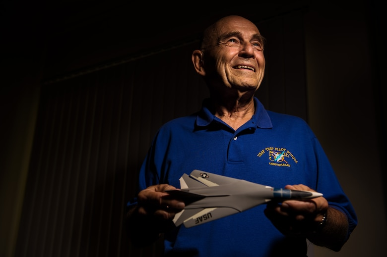 """Lieutenant Colonel (Ret.) Robert Whelan began his 20-year Air Force career as a second lieutenant in 1956, training to become a pilot.  Throughout his career, Whelan was stationed at Kelly Air Force Base, Texas; the Philippines; and Edwards AFB, Calif.  While serving in Vietnam, Whelan flew 142 sorties, one of which was to save soldiers from the 101st Airborne Division while they were pinned down by enemy fire.  His efforts were recognized with a Distinguished Flying Cross and a Letter of Commendation from the U.S. Army.  Back at Edwards, Whelan's career led him into a major part of the production and testing of the F-15 Eagle and the F-16 Fighting Falcon fighter jets.  One of his last missions was to take an F-15 Eagle to Europe to introduce the fighter jet and the Airborne Warning and Control System, or AWACS, aircraft to the North Atlantic Treaty Organization.  Whalen's greatest take-away from his military service was that """"by your actions, you are affecting people – either good or bad."""""""