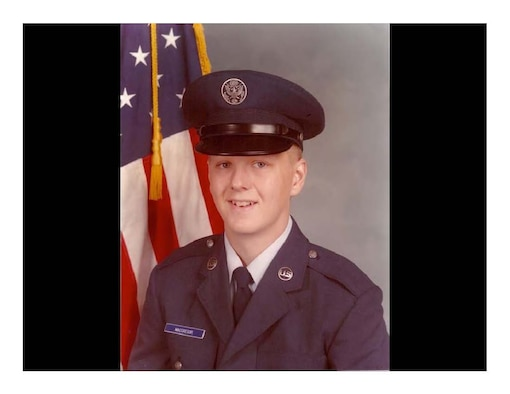 Col. Timothy MacGregor, Air Education and Training Command Inspector General's office Inspection Division chief, is pictured as Airman Basic MacGregor in 1983 when his career began. 33 years ago, MacGregor attended technical training at Sheppard Air Force Base, Texas, to become a medical administration specialist.