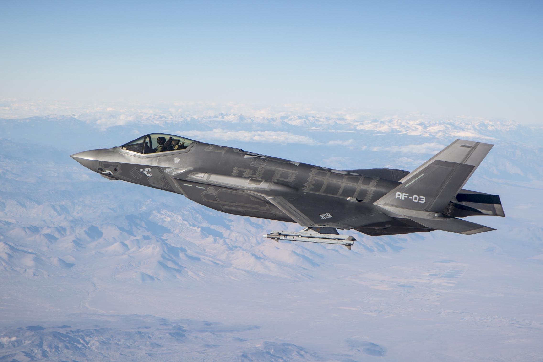 b3eebbdd024c F-35A completes first live air-to-air  kill  test   Edwards Air ...