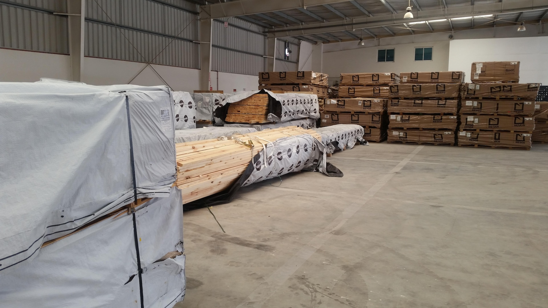 Some of the Class IV materials recently added to the mission at DLA Distribution Bahrain.