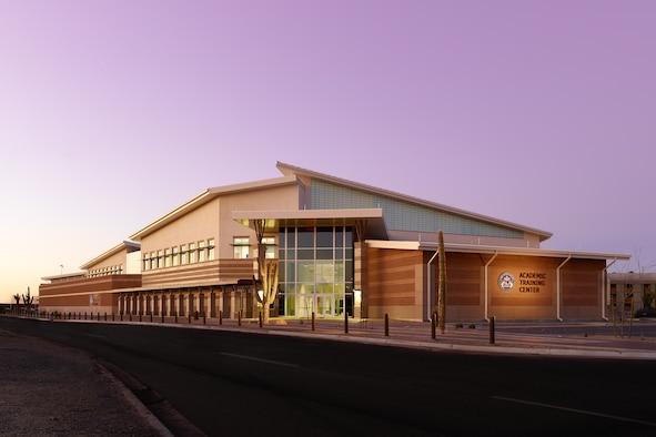 The F-35 Academic Training Center on Luke AFB, Arizona. (U.S. Air Force photo)