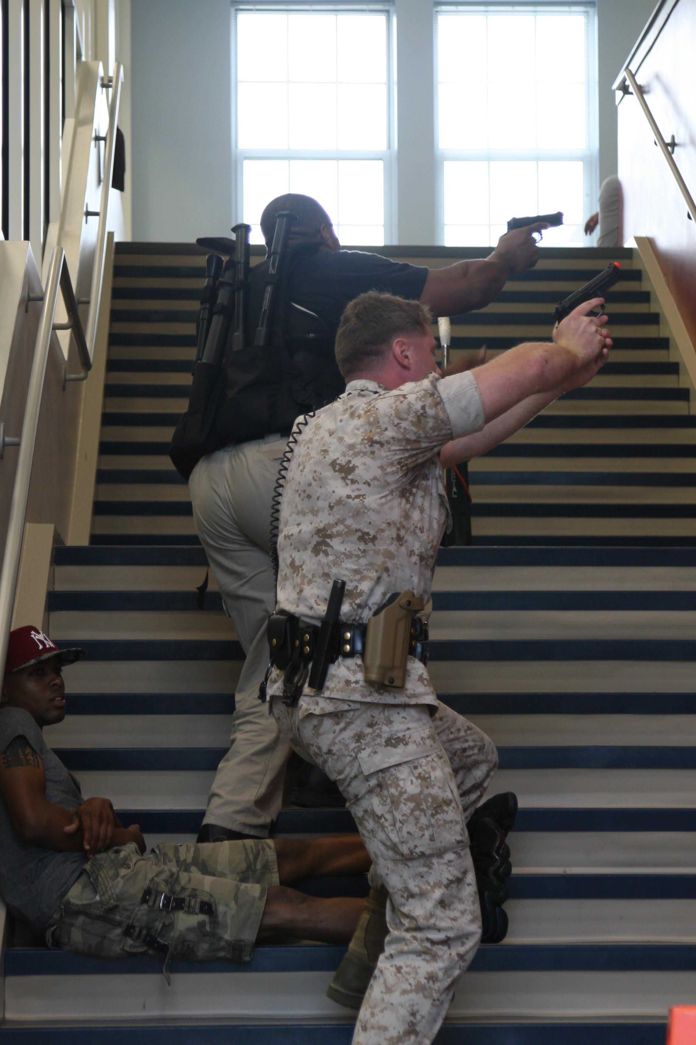 Quantico holds active shooter exercise at Crossroads ...