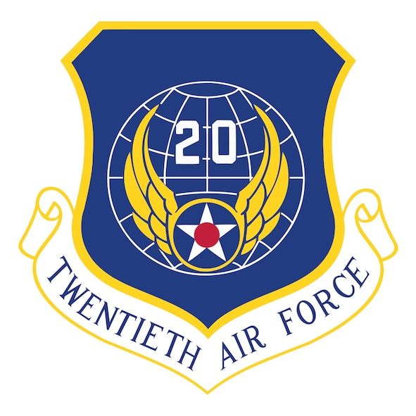 20th Air Force patch.